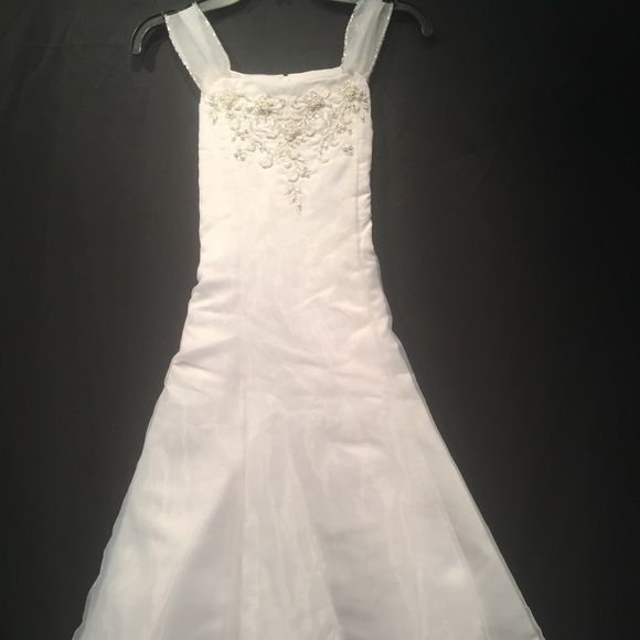 Us Angels Other - US Angels Bridal Party Flower Girl Dress Size 10